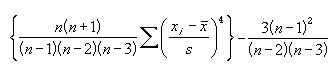 Formula_Kurtosis