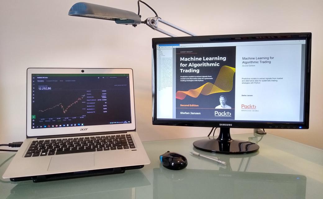 Machine Learning for Algorithmic Trading Book by Stefan Jansen